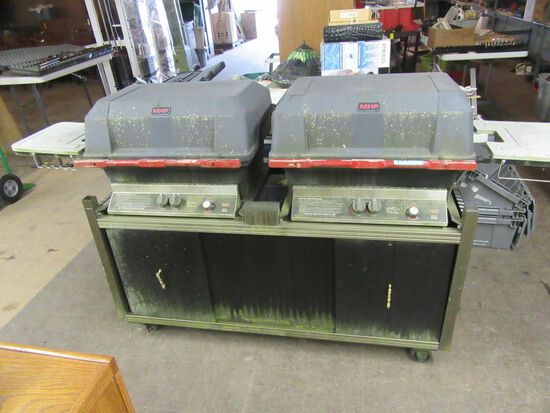 MHP MODEL WNK DOUBLE GAS GRILL
