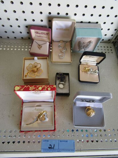 VARIETY OF BOXED JEWELRY