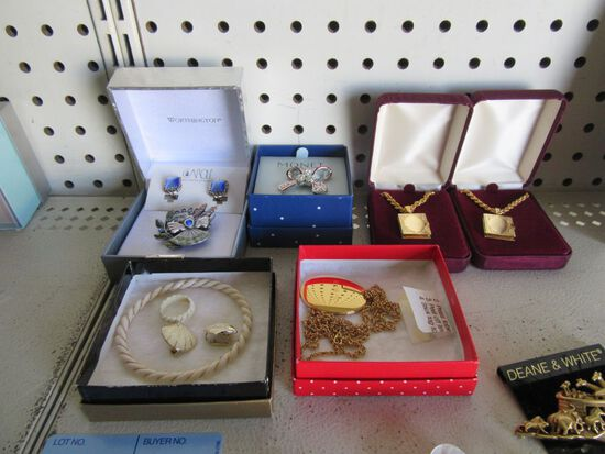LOCKETS, BROOCH, AND JEWELRY SETS