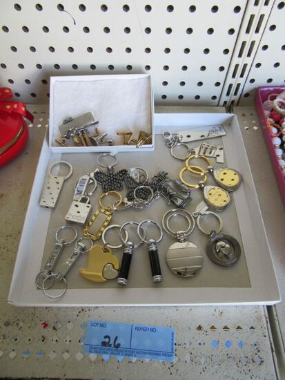 KEYCHAINS AND MEN'S JEWELRY