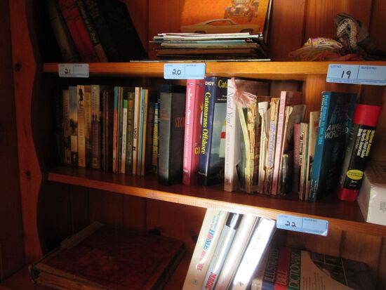 VARIETY OF BOOKS INCLUDING EASY READING AND OTHERS