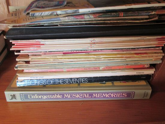 MUSIC BOOKS AND SONG BOOKS