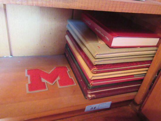 MENTOR HIGH SCHOOL YEARBOOKS