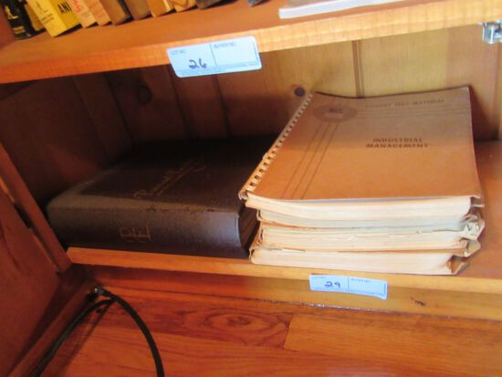 INDUSTRIAL MANAGEMENT BOOKS AND OTHERS
