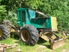2006 TIMBERJACK 460D SKIDDER W/ GRAPPLE AND BLADE. AUTOMATIC TRANSMISSION,