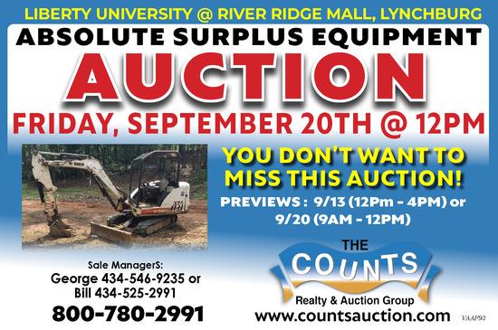 LU Surplus Auction