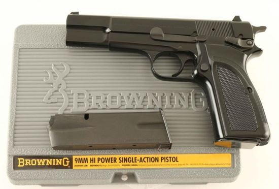 Browning Hi-Power 9mm SN: 511ZM51347