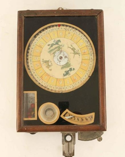 Vintage Trade Stimulator Horse Race Game