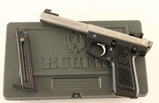 Ruger 22/45 Target .22 LR SN: 223-34833