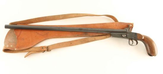 Antique French Pinfire Shotgun 10mm