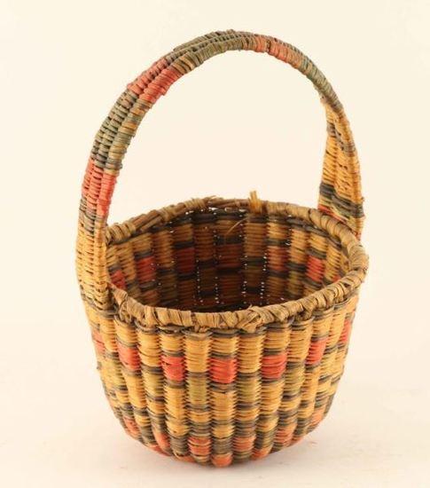 Hopi Basket with Handle