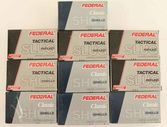 12GA Federal Ammo