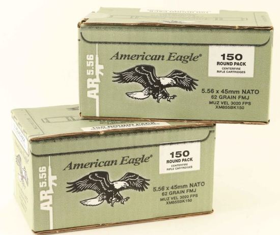 Lot of 5.56x45mm Ammo