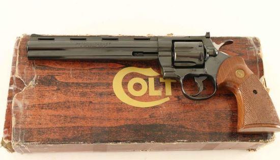 Colt Python Target  38 Spl SN:    Auctions Online | Proxibid