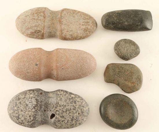 Lot of Prehistoric Stone Artifacts