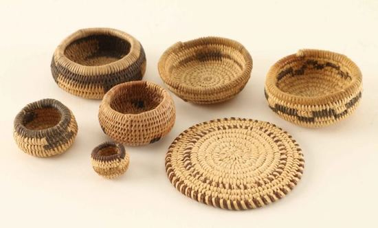 Chemehuevi Miniature Baskets