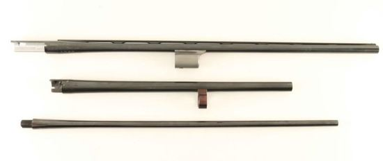 Collection of 3 Shotgun Barrels