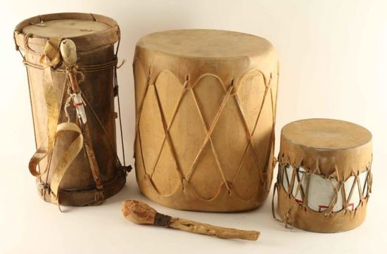 Lot of 3 Drums