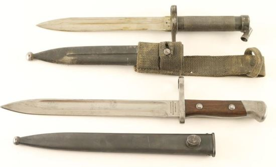Collection of Two Military Bayonets
