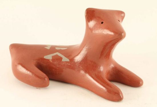 Zuni Pottery Dog