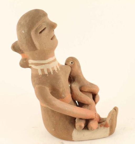 Zuni Pueblo Pottery Figure