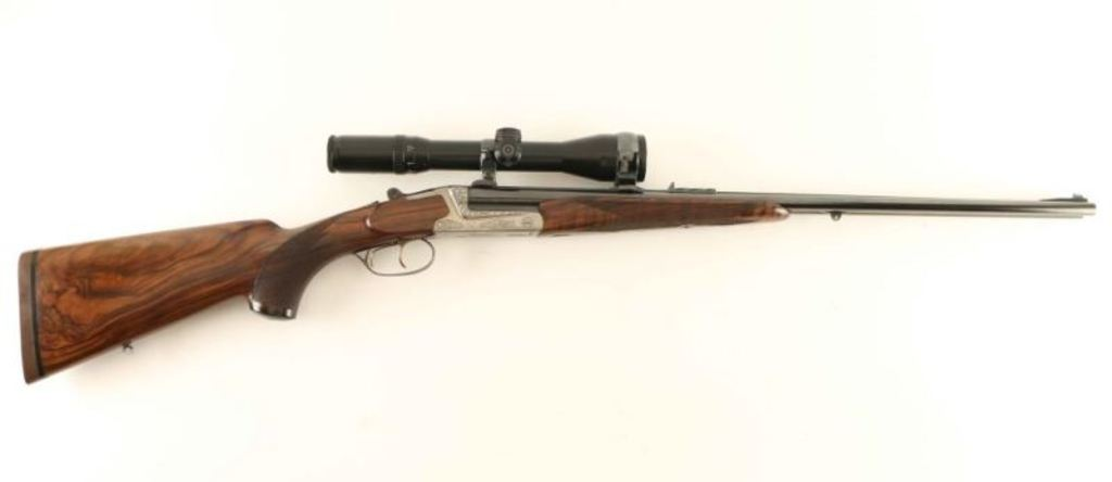 *FW Heym 88B Double Rifle 9.3x74R SN: 81596