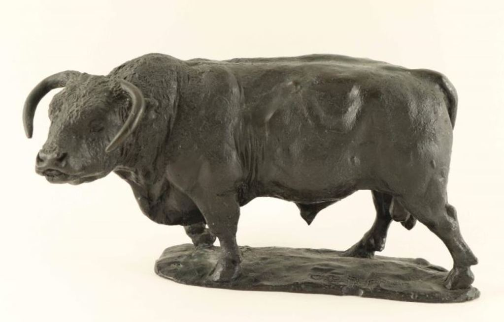 Original Bronze of Bull by George Phippen