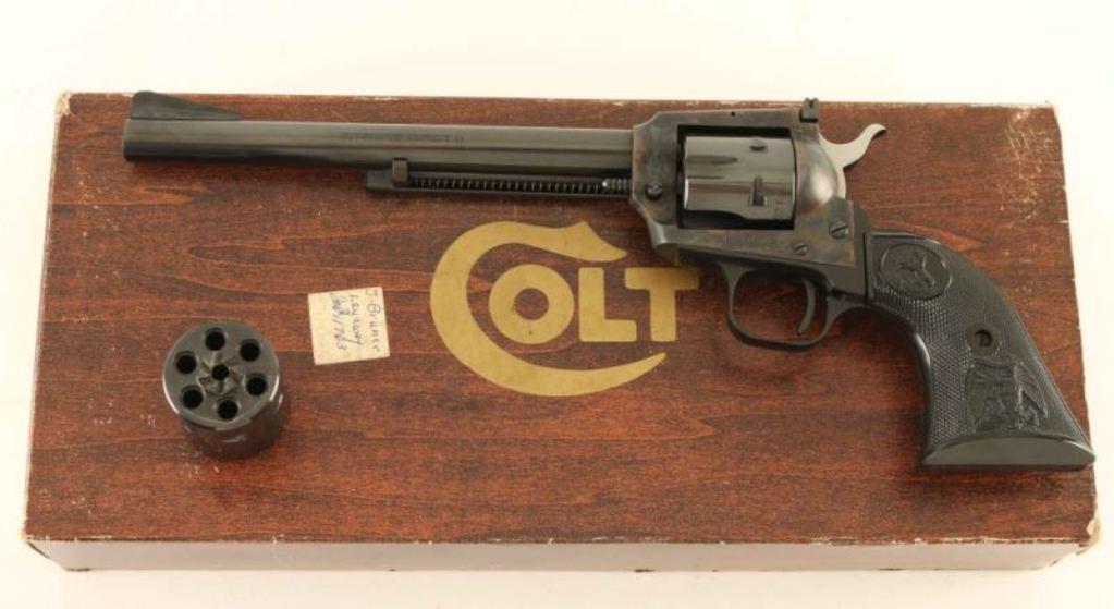 Colt New Frontier Buntline .22 SN: G187891