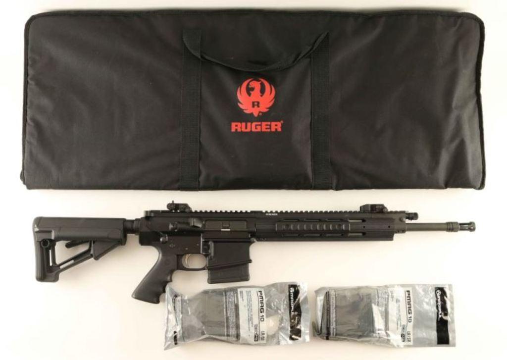 Ruger SR-762 .308 SN: 561-05824