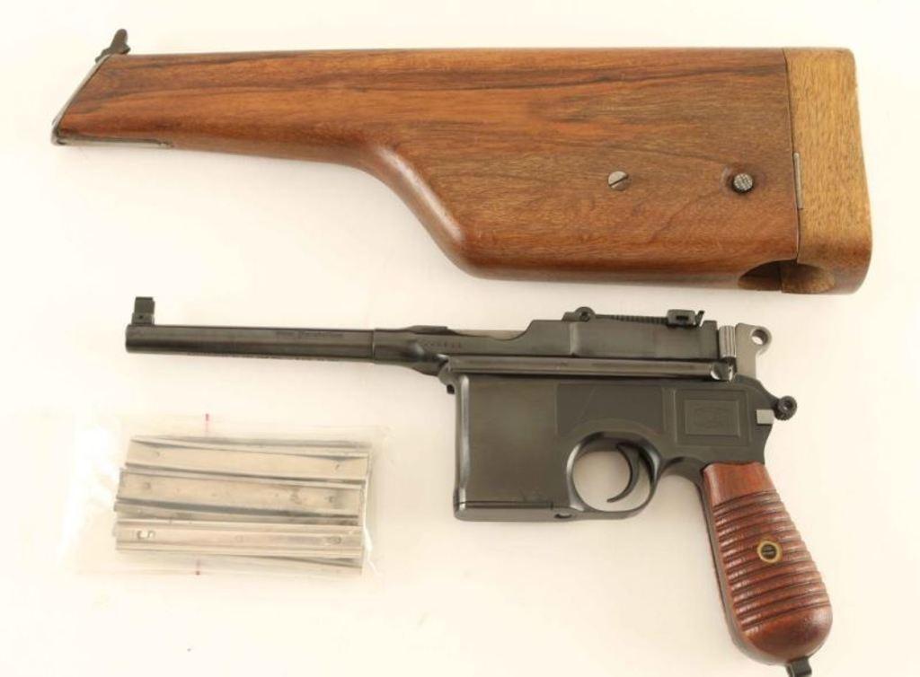 Mauser C96 9mm SN: 443988