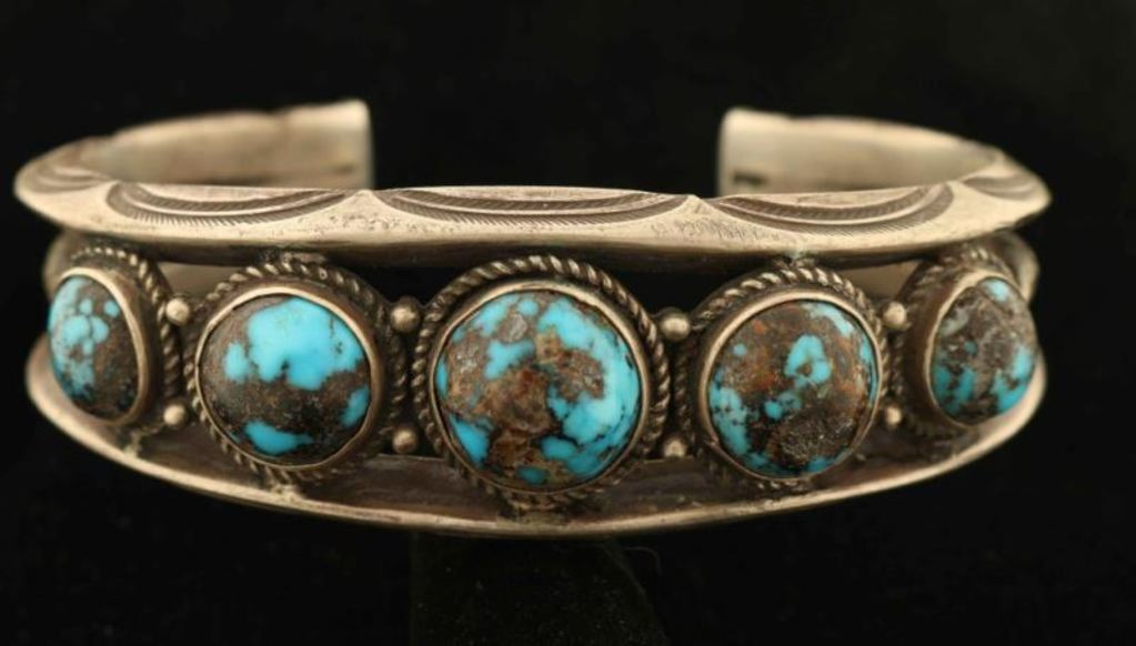 Turquoise & Sterling Silver Bracelet