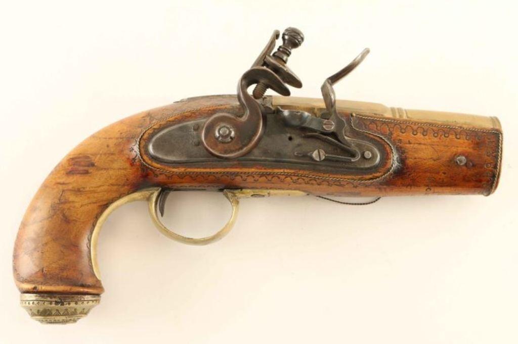 Large Flintlock Hand Cannon
