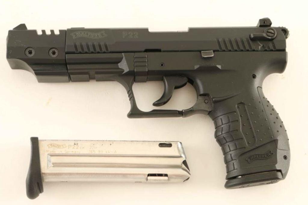 Walther P22 Target .22 LR SN: N064122