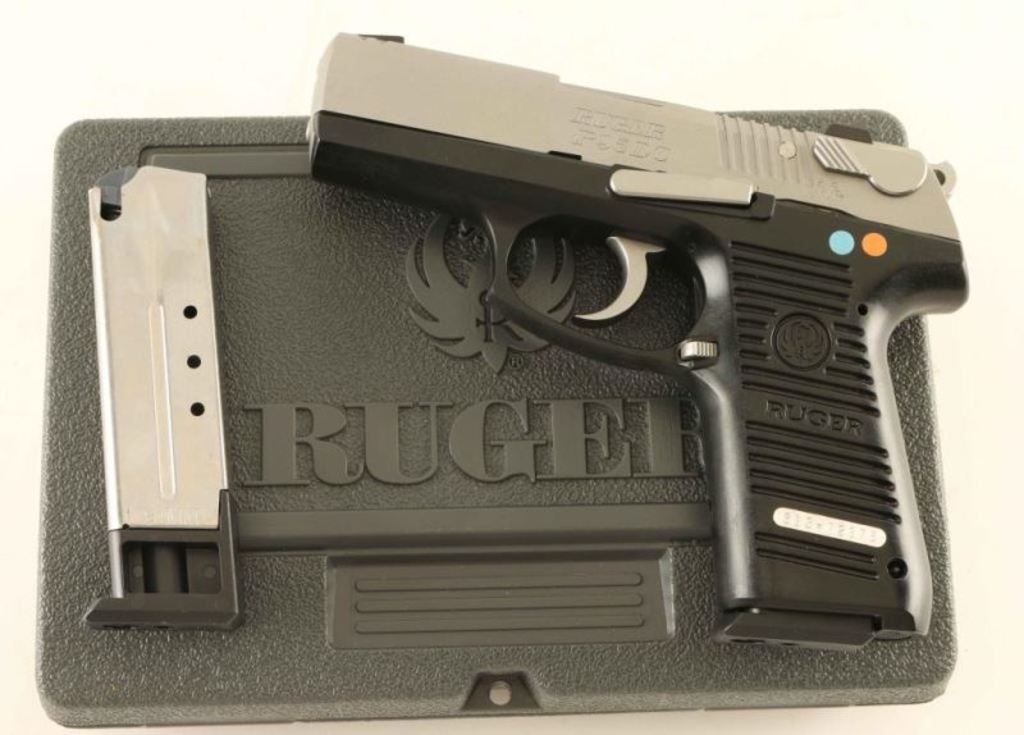 Ruger P95DC 9mm SN: 313-72376