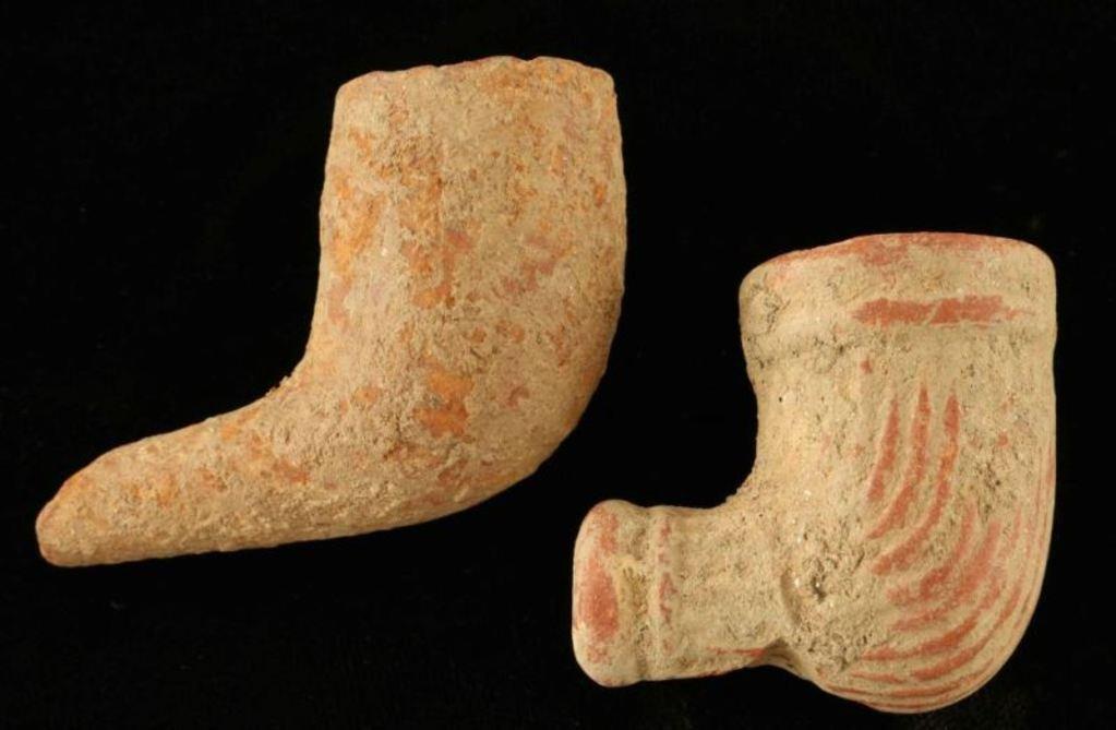Prehistoric Pipe Bowls