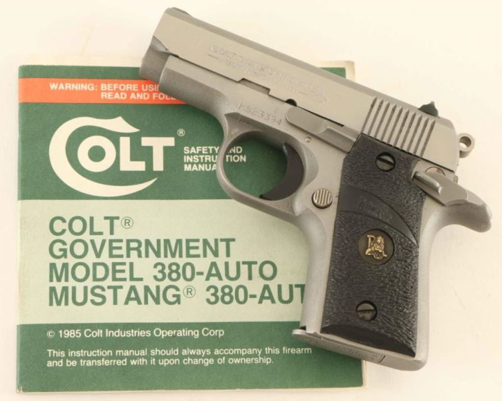 Colt Mustang .380 ACP SN: MS23394