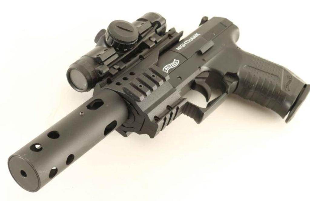 Walther NIghthawk .177 Cal SN: J42748553