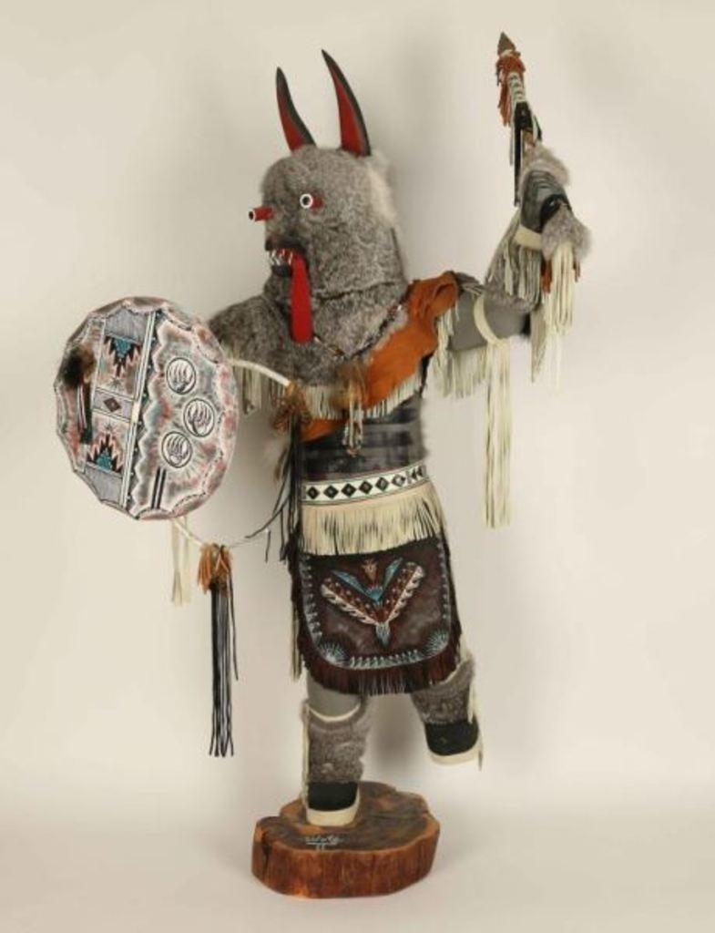 Large Wolf Kachina