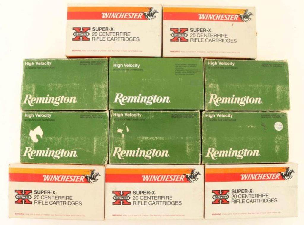Lot of 458 Win Mag Ammo