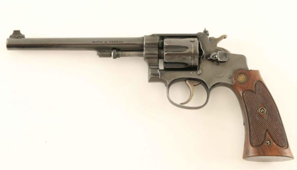 Smith & Wesson .22/.32 Hand Ejector .22 LR