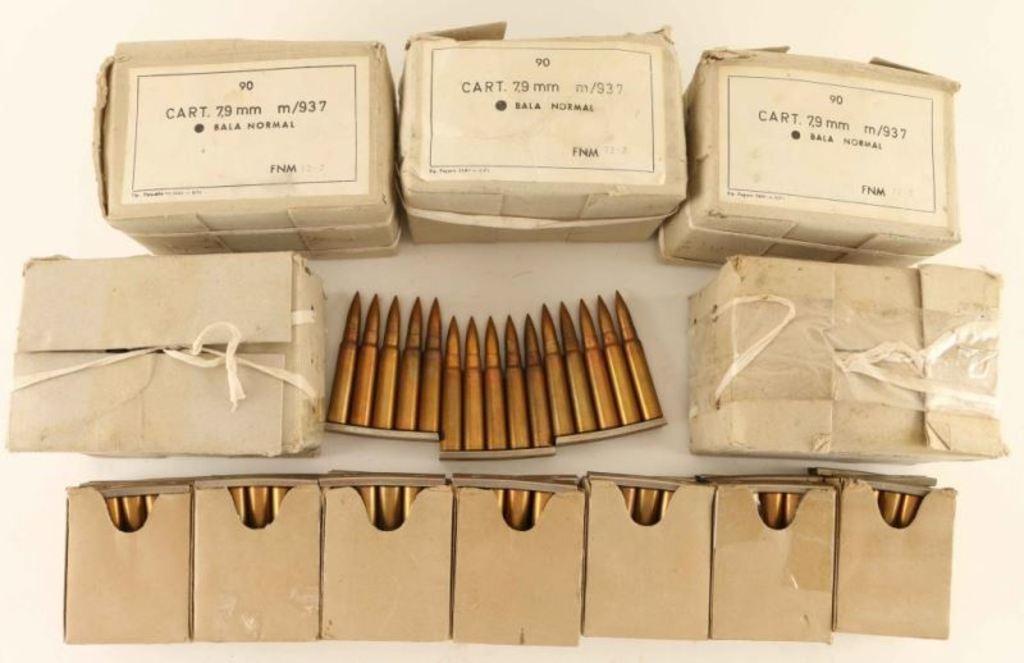 Lot of 8mm Ammo
