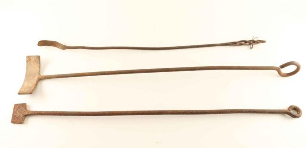 Lot of 3 Branding Irons