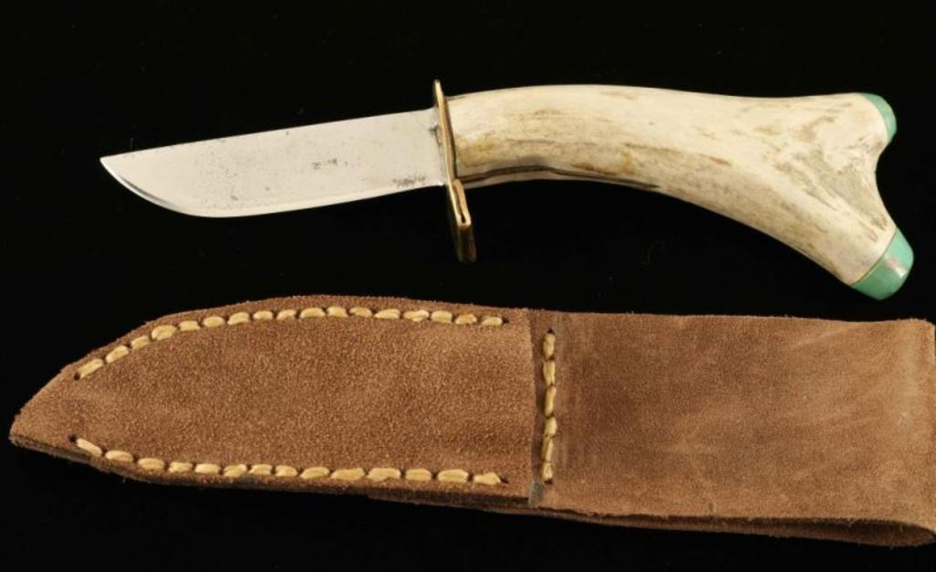 Antler Handled Knife