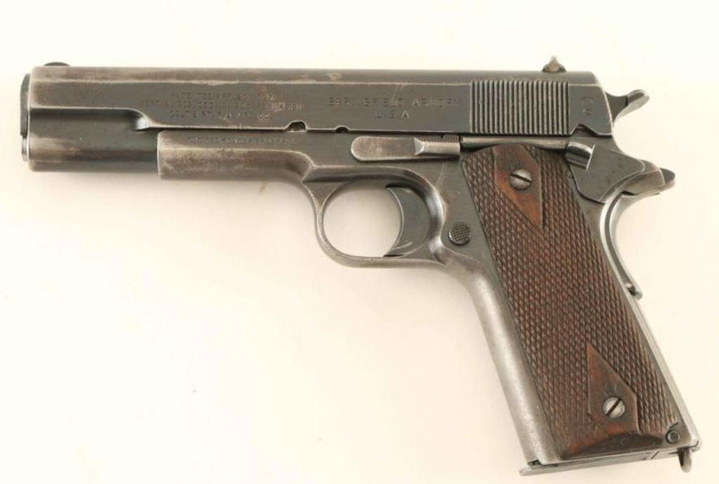 *Colt/Springfield 1911 .45 ACP SN: 58930