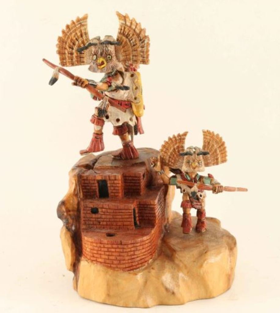 Hopi Owl Kachina