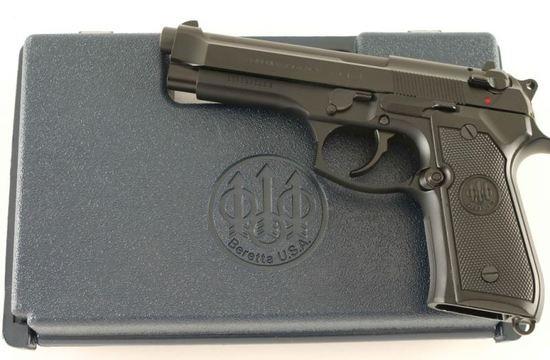 Beretta 92FS 9mm SN: BER324506Z | Firearms & Military
