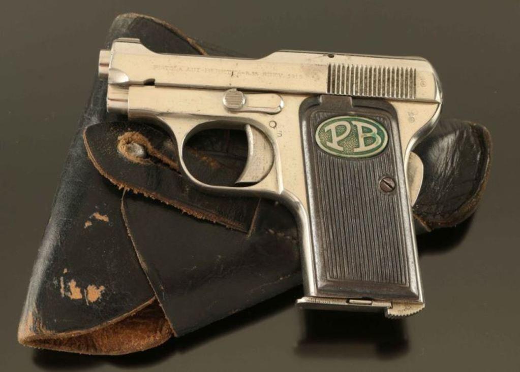 Lot: Beretta Model 1919  25 ACP SN: 174883   Proxibid Auctions
