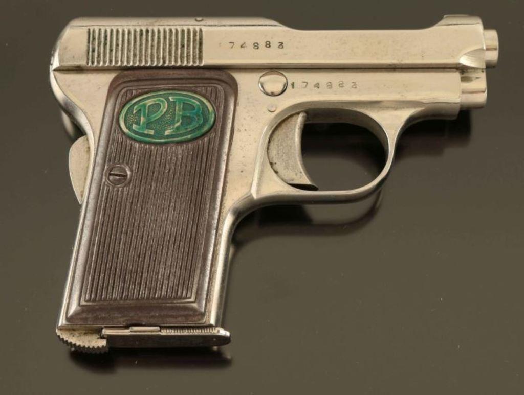 Lot: Beretta Model 1919  25 ACP SN: 174883 | Proxibid Auctions