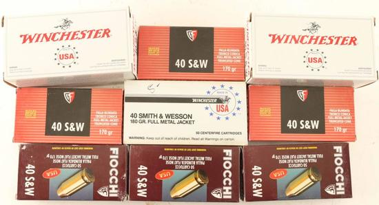 Lot of 40 S&W Ammo