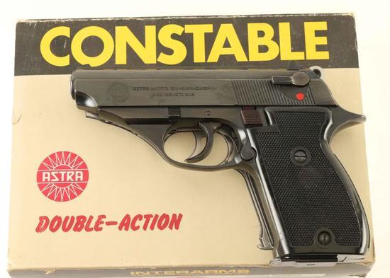 Astra Constable .22 LR SN: 1297293